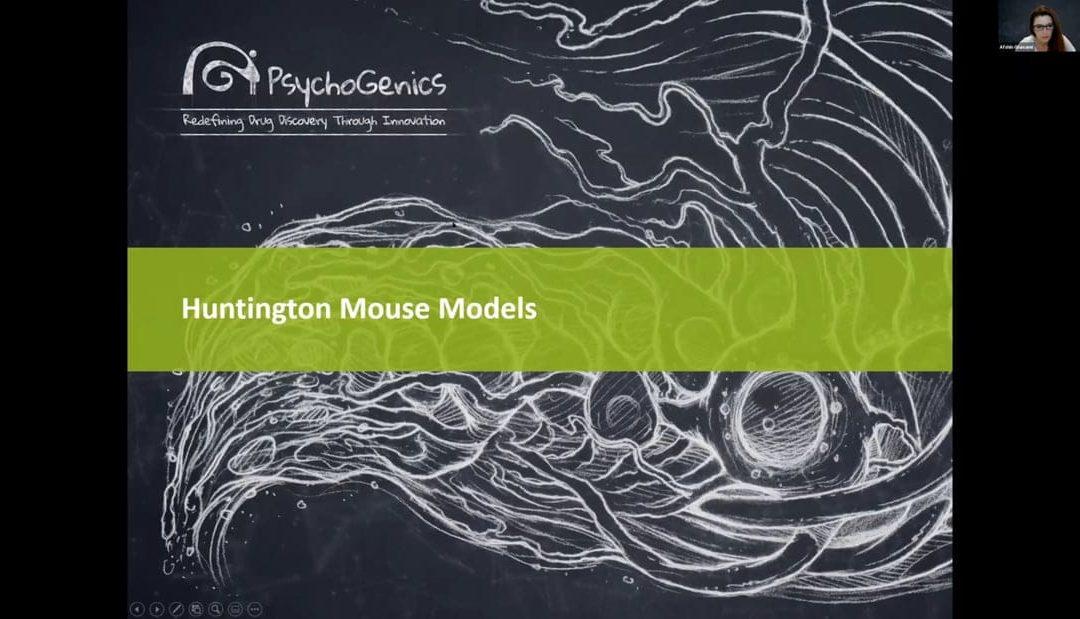 Preclinical Mouse Models of Huntington's Disease at PsychoGenics [WEBINAR]
